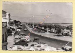 33. CPSM - ARCACHON – Le Boulevard-Promenade (vieilles Voitures) (voir Scan Recto/verso) - Arcachon