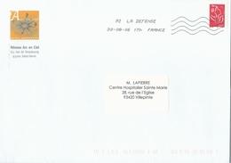 OMEC TOSHIBA Testée à 92 LA DEFENSE - Avec Lignes Ondulées Montantes - 116 Mm - 30.-08.-06 17h - Marcophilie (Lettres)