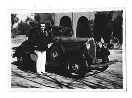 AUTOMOBILE Photographie Militaire Armée De L'air Automobile Marrakech 1937 - Voitures De Tourisme