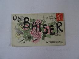 CPA 14  Un Baiser De VILLERS-sur-MER 1908 TBE - Villers Sur Mer