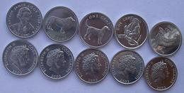 COOK ISLAND 2003  SERIE 5 MONETE DA 1 CENT FDC UNC. - Islas Cook