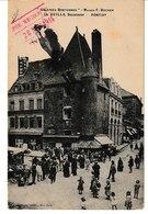 Morbihan PONTIVY Galeries Bretonnes Maison F. Bocher.  Guillo Succ. Cachet De L'Hôpital Temporaire (animation) - Pontivy
