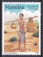 Namibia Südwestafrika SWA 1997 Organisationen Postwesen Weltpostverein UPU Weltposttag Postläufer Postman, Mi. 866 ** - Namibie (1990- ...)