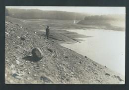 Barrage De La Gileppe. Photo Carte. Voir  Annotations Au Dos.  2 Scans. - Gileppe (Barrage)