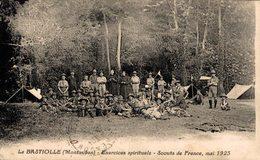 11441       LA BASTIOLE  EXERCICES SPIRITUELS  SCOUTS DE FRANCE MAI 1923 - Francia