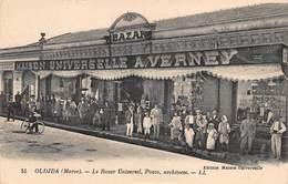 CPA OUDJDA ( Maroc ) - Le Bazar Universel, Pozzo, Architecte - Autres