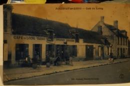 Cpa Café - Café Du Loing - 1926 - Fontenay-sur -Loing - Loiret - Cafés