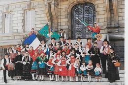 """PORTUGAL-Minho -Grupo Folklorico """"OS BAILARINOS DO NORTE DE PORTUGAL- (Assoc. De Jovens Portugueses De Corbeil. - Danses"""