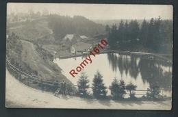Elsemborn. Le Lac. Photo Carte Animée. Rare. Voir Dos. - Elsenborn (camp)