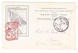 Veurne 1918 College SKVH SUCW / WO I 14-18 IJzerfront Eendracht / Prof. Daels Joe English / EH Vandepitte † Kortrijk - Veurne