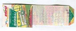 Ticket °_ 21-Dijon-Bus-12 Trajets-Normal- R/V 7414 - Abonnements Hebdomadaires & Mensuels