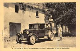 Nieul Lès Saintes Saint St Georges Des Coteaux Camion Citroën Laiterie Thème Lait Fromage - France