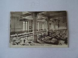 CPA 75 PARIS Institut National Des Sourds- Muets - Un Réfectoire  TBE - Distrito: 05