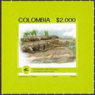 Colombia - Orinoco Crocodile (Crocodylus Intermedius), Self-adhesives Stamp, MNH, 2015 - Colombia