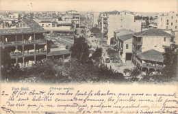 EGYPT Vue Du Village Arabe De PORT-SAÏD En 1903 Cachet Du Corps Expéditionnaire Du Tonkin - Port Said