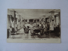 CPA 75 PARIS Institut National Des Sourds- Muets - Le Musée  TBE - Distrito: 05
