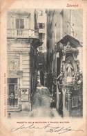 CPA SAVONA - Piazzetta Della Maddalena E Palazzo Multedo - Savona