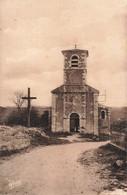 82 Bardigues Eglise Cpa Carte Animée Cachet 1960 - France