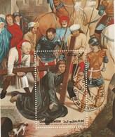 Umm Al Qiwain - 1 Bloc - Tableau  La Passion Du Christ - Chemin De Croix - Mi BL 39A - Année 1972 - Umm Al-Qiwain