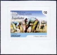 Uruguay - Sheeps, Self-adhesive Stamp, MINT, 2013 - Uruguay