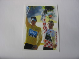 Cyclisme - Autographe - Carte Signée Thomas Voeckler - Radsport