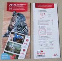1 Boekje/carnet Zoo Antwerpen/anvers** - Markenheftchen 1953-....