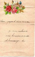 LETTRE ADRESSEE CHERS PARENTS EN 1900 - Manuscrits