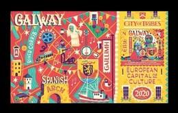 Ireland 2020 Mih. 2345 (Bl.117) Galway And Rijeka - European Capitals Of Culture (joint Issue Ireland-Croatia) MNH ** - Nuovi