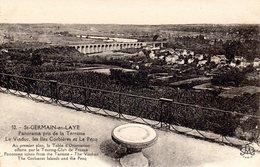 St Germain En Laye - Panorama Pris De La Terrasse - Le Viaduc - Les Iles Corbières - Le Pecq - St. Germain En Laye