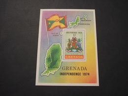 GRENADA - BF 1974 Indip./animali - NUOVO(++) - Grenada (1974-...)