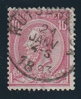 COB N° 46 Oblitération Ruysbroeck - 1884-1891 Leopold II