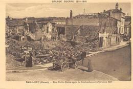 Bar Le Duc Grande Guerre 1914 1918 Combier Cim Rue Notre Dame - Bar Le Duc