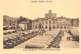 Bar Le Duc Grande Guerre 1914 1918 Combier Cim Camions Camion Place Exelmans Bains Douches - Bar Le Duc