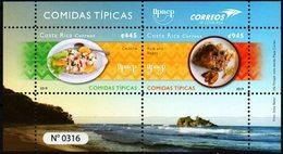 Costa Rica 2019 ** Upaep Comidas Típicas: Ceviche. Arroz Con Frijoles (gallopinto). - Costa Rica