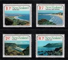 New Zealand 1977 Landscapes - Beaches Set Of 4 MNH - Ongebruikt