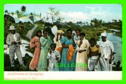 CAMAGUEY, CUBA - LAUNDRESSES AR CAMAGUEY - PUB. BY JUAN MARCOLESCO - ANIMATED WITH PEOPLES - - Cuba