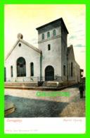CAMAGUEY, CUBA - BAPTIST CHURCH - ANIMATED WITH PEOPLES - PUB. BY JUAN MARCOLESCO - - Cuba
