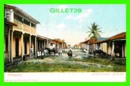 CAMAGUEY, CUBA - MORALITO STREET - LAS MINAS - ANIMATED WITH PEOPLES - JUAN MARCOLESCO - - Cuba