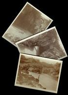 SLOVENIA - TOLMINO - SANTA LUCIA D'ISONZO 1917 - 3 FOTO SCATTATE DA MILITARE AUSTROUNGARICO 1^ GUERRA MONDIALE - Slovenia