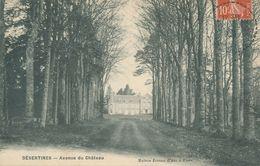 CPA Désertines Avenue Du Château Maison Jeanne D'arc à Flers Circulée - Frankreich
