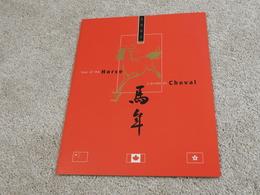 CANADA POST LUNAR PACK 2002 LUNAR YEAR OF HORSE (CANADA / CHINA / HONG KONG) - Commemorativi