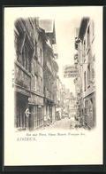 CPA Lisieux, Rue Aux Feves, Vieux Manoir Francois 1er - Lisieux