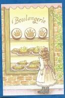 CPM Épiphanie Galette Des Rois Boulangerie Illustrateur Japonais Milk Aoyama - Editée Créateur Fève Japonaise My Charm - Illustrateurs & Photographes