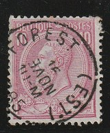 COB N° 46 Oblitération  FOREST EST 1885 - 1884-1891 Léopold II
