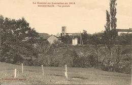 REHAINVILLER VUE GÉNÉRALE  Guerre En Lorraine En 1914- Militaria Guerre 1914-1918 - War 1914-18