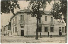 CPA Algérie. Boufarik. Nouvelle Poste, Animée, 1919 - Andere Steden