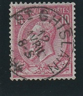 COB N° 46 Oblitération St-GHISLAIN 1894 - 1884-1891 Leopold II
