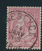 COB N° 46 Oblitération MAESEYCK - 1884-1891 Léopold II