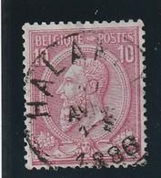 COB N° 46 Oblitération HALANZY - 1884-1891 Leopold II