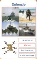 NETHERLANDS - Prepay, Welfare, Defensie Irak - Marine, Military Forces, CN 5 Digits, Used - Pays-Bas